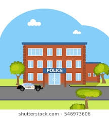 police station building clipart. Exellent Police Police Station Police Department Cop Law Building Car Flat Design With Station Building Clipart S