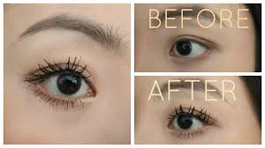 tweezerman eyelash curler before and after. my mascara routine for straight asian lashes tweezerman eyelash curler before and after