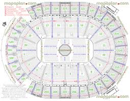 New T Mobile Arena Mgm Aeg Ufc 200 Detailed Seating Chart