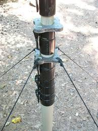 max gain systems inc fiberglass push up mast guy rings