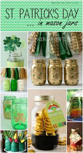 Decorating Ideas With Mason Jars St Patrick's Day Craft Ideas Mason Jar Crafts Love 68