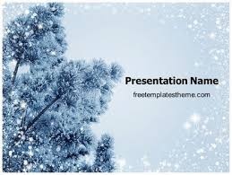 Winter Powerpoint Download Free Winter Powerpoint Template For Your
