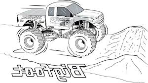 Free Printable Monster Truck Coloring Pages Printable Coloring Pages