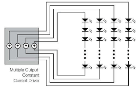 a guide to selecting power supplies for led lighting applications edn figure 5 leds connect by the multiple channel method