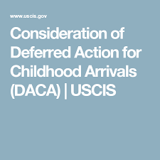 Action Arrivals For daca Childhood Of Consideration Deferred H8xEc6