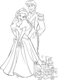 Wedding Coloring Pages Disney In Page Princess Colouring Free
