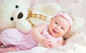 sweet newborn baby cute smiley