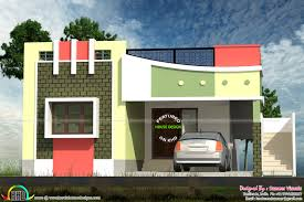 Small Tamilnadu style home design   Kerala home design and floor plansSmall Tamilnadu home design  House Facilities