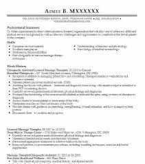 Chiropractic Assistant Resume Cool Chiropractic Assistant Sample Resume Colbroco