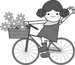 自転車サイクリングのイラスト無料イラストフリー素材