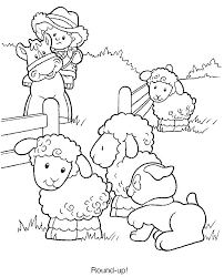 Farm Coloring Pages Roomhiinfo