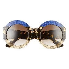 gucci 2017 sunglasses. best spring 2017 sunglasses - gucci round 51mm s