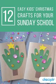12 Easy Kids\u0027 Christmas Crafts For Sunday School