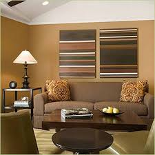 ... Great Living Room Paint Ideas With Brown Furniture For Your Inspiration  : Outstanding Brown Wall Painting ...