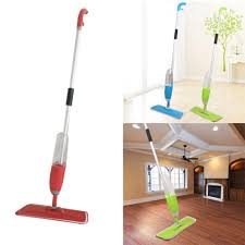 clearance multifunction portable microfiber spray water clean floor mop wet and dry cleaner