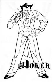 Small Picture Seasonal Colouring Pages The Joker Coloring Pages New In