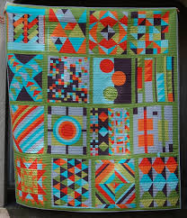 picture of contemporary quilts — home decor  amish contemporary
