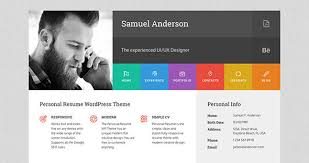 Wordpress Resume Theme Gorgeous 48 Best Minimal Wordpress Theme Designs 48 Pixel Curse