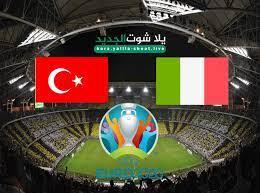 نتيجة مباراة ايطاليا وتركيا في كأس الامم الاوروبية 2021 - يلا شوت الجديد