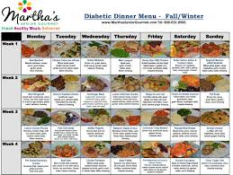 diabetes food menus diabetic meals delivered to your home diabetic meal delivery