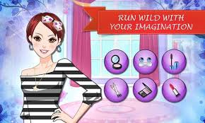 stylish makeup artist apk screenshot