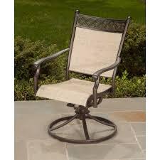 outdoor sling swivel rocker patio chair manhattan