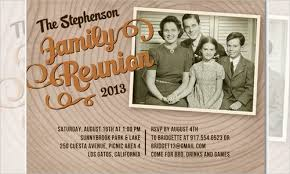 Family Reunion Flyers Templates 35 Family Reunion Invitation Templates Psd Vector Eps