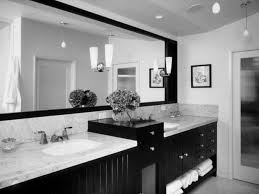 bathroom long black wooden vanity with storage and white marble counter top also sink plus black and white bathroom furniture
