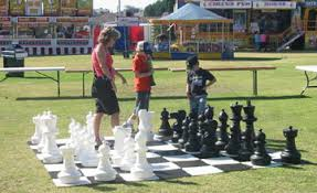 garden chess set. Giant Garden Chess Sets Set
