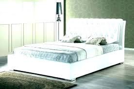 White Leather Headboard Bedrooms Bedroom Set Designs Tufted Bed ...