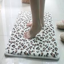 memory foam bathroom set leopard bathroom rugs interiors embossed memory foam bath rug set