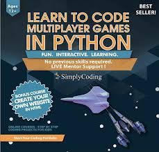 Simply Coding Javascript Game Design Simply Coding For Kids Python Multiplayer Video Game Design Software Ages 12