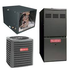 goodman gmec96. 3.5 ton goodman 14 seer central air conditioner 120,000 btu 80% efficiency gas furnace horizontal gmec96