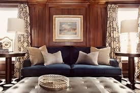 Traditional Den designed by Elizabeth Metcalfe Interiors & Design Inc.  www.emdesign.ca
