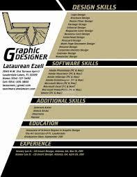 Graphic Designer Resume Sample Luxury Web Designer Resume Example