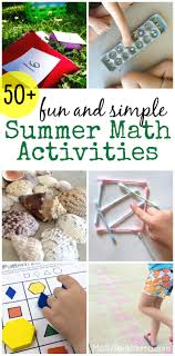 fun and simple summer math activities this huge list of fun math ideas is perfect for helping your kids hone their math