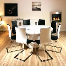white circle dining table circular dining table white circle wooden black seat pad light frame silver white circle dining table