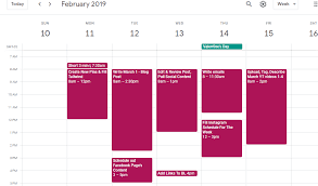 Calendar Blocking Template How To Manage Your Time With Time Blocking