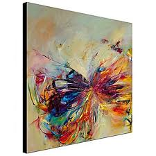 100 hand painted erfly oil painting abstract modern canvas art with diy stretcher optional in painting calligraphy from home garden on