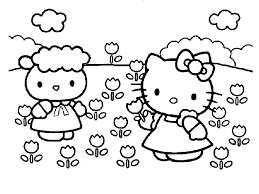 Cartoni Animati Da Colorare Hello Kitty Archives Disegni Da Colorare