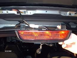 Third Brake Light Repair Led Rear Third Brakelight Replacement Install How To