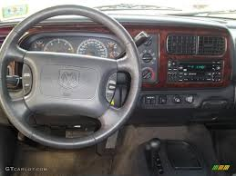 2000 Dodge Durango SLT 4x4 Agate Black Dashboard Photo #47380103 ...