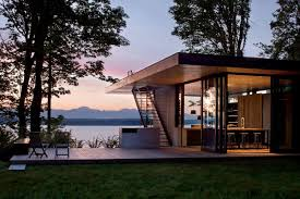 contemporary tiny houses. Tiny House Architecture Beautiful Modern Design Flat Roof Style Open Space Living Room Wood Contemporary Houses