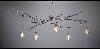 lighting diy tree branch light fixture chandeliers