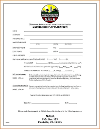 Membership Invoice Template Fresh Dues Example Application Form Gym