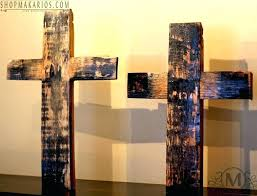 funky large cross wall decor photo wall art collections