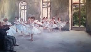 edgar degas ballet rehearsal reion by igson93