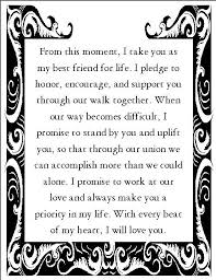 best 25 sample wedding vows ideas on pinterest wedding vowels Wedding Vows Non Denominational romantic wedding vows examples for her and for him non religious non denominational wedding vows examples