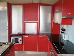Red Kitchen Paint Kitchen Incredible Red Painted Kitchen Cabinets Design Wonderful
