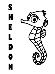 Finding Nemo Clipart Black And White Free Download Best Finding